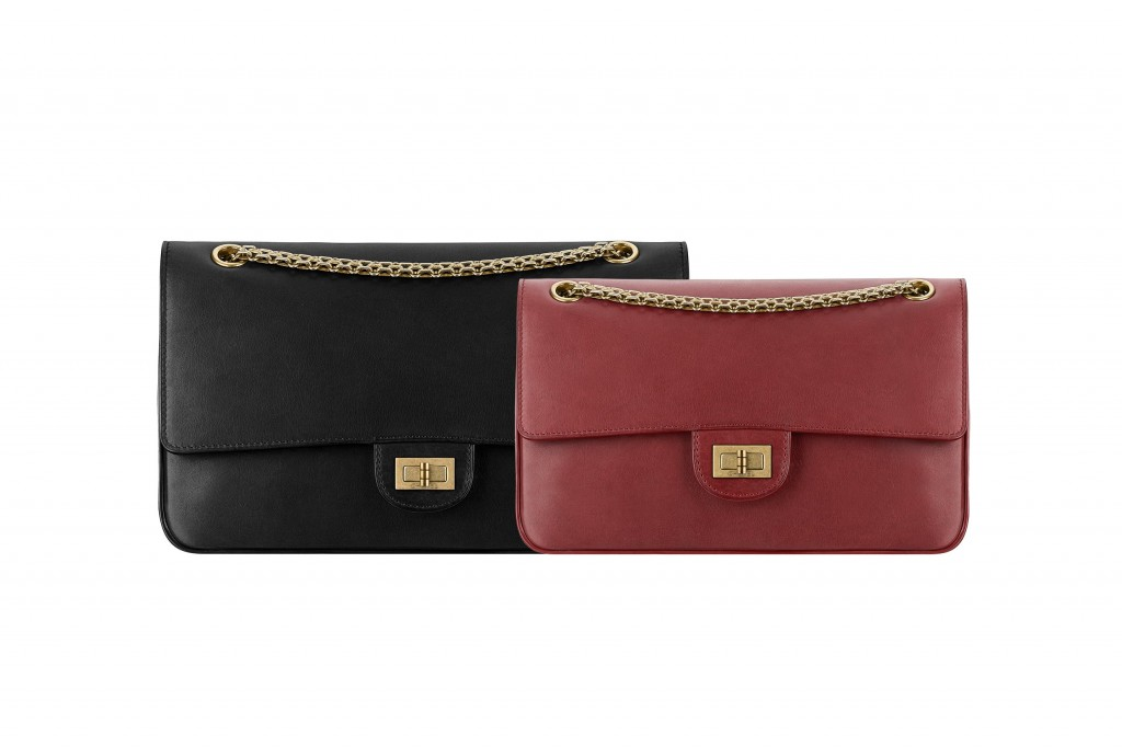 Soft leather 2.55 bags