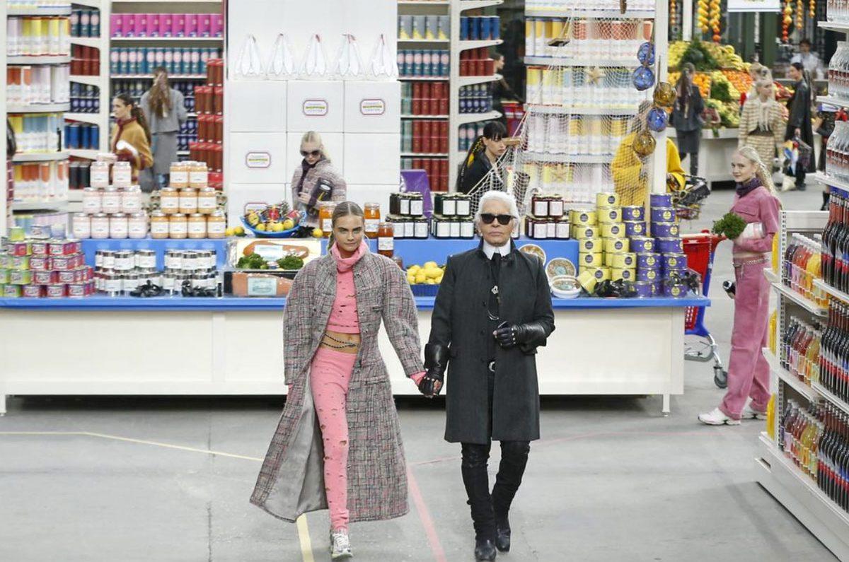 Đại siêu thị của Karl Lagerfeld cho show thời trang Chanel Thu Đông 2014