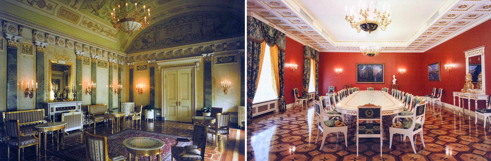 Hình ảnh sang trọng của nội thất Colombostile