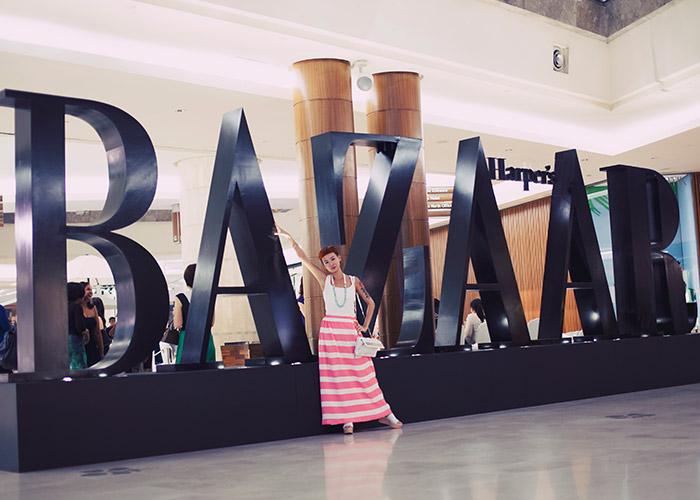 Harper's Bazaar Pop-Up nằm trong chuỗi sự kiện mừng sinh nhật 5 năm tạp chí Harper's Bazaar Việt Nam