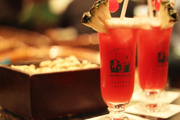 """Cocktail Sling được xem là """"quốc tửu"""" của Singapore"""