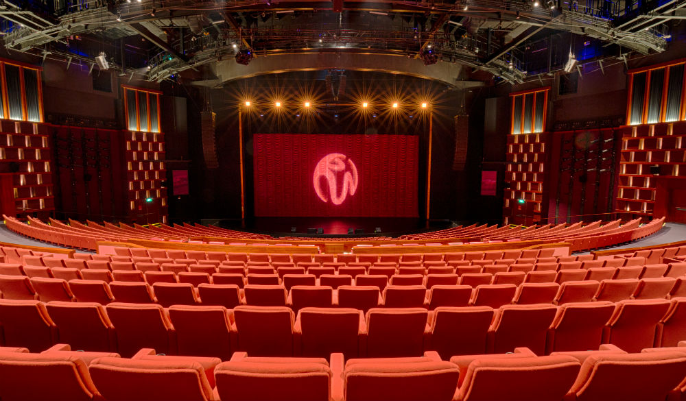 Nhà hát Resorts World Sentosa đủ đẳng cấp để tổ chức một chương trình ca nhạc tầm cỡ thế giới