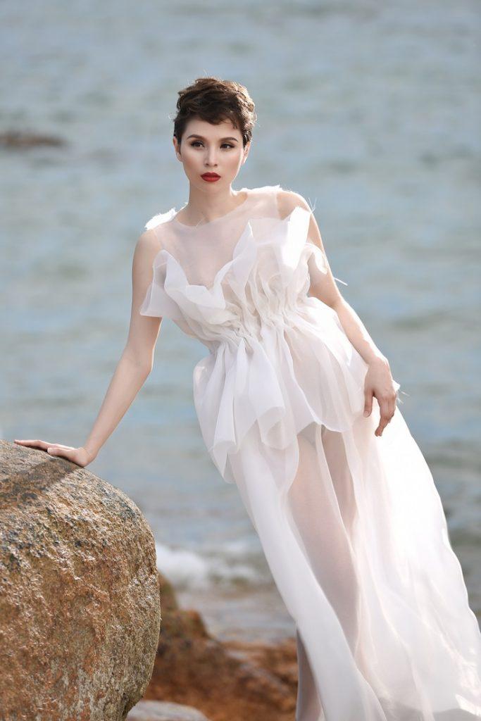 Người mẫu Mercedes Aspa, gương mặt đại diện của thương hiệu Mifuki Tokyo tại Việt Nam