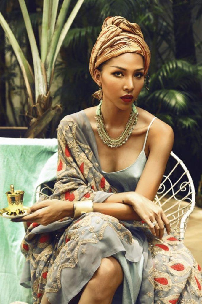 Minh Trieu_dien khan turban_pic2