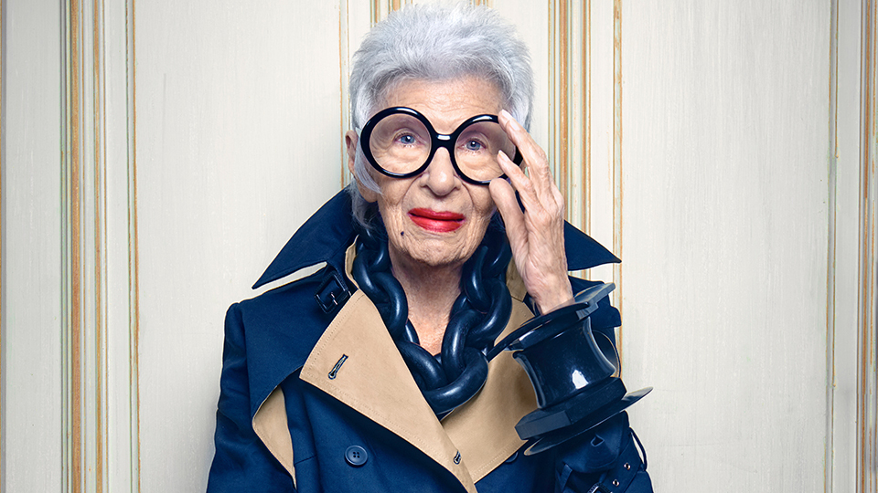 Bà Iris Apfel