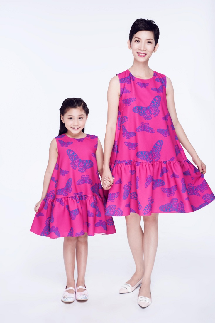 Người mẫu Xuân Lan cũng dành rất nhiều thới gian chăm sóc, định hướng phát triển cho bé Khánh Ngọc