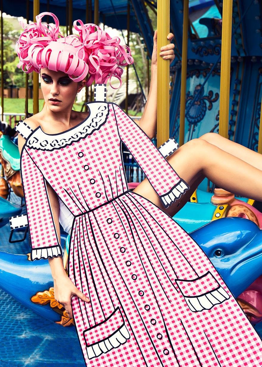 Đầm Pink Vichy Dress được NTK Jacques Esterel may cho bóng hồng Brigitte Bardot của Pháp