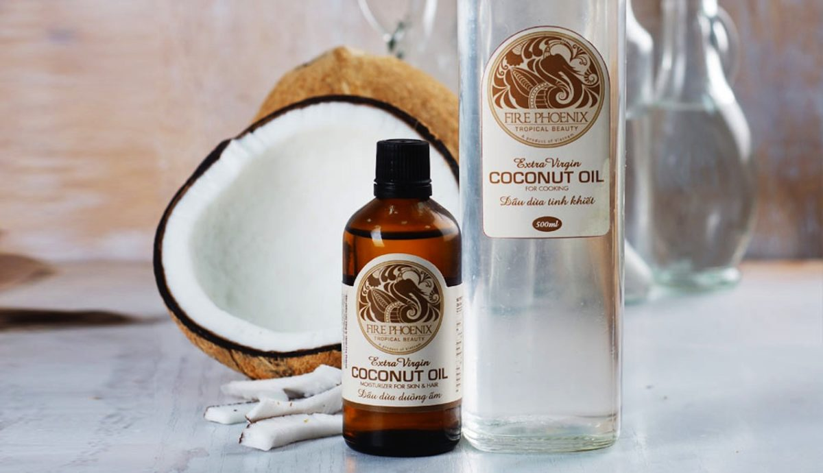Trị mụn ẩn dưới da bằng dầu dừa