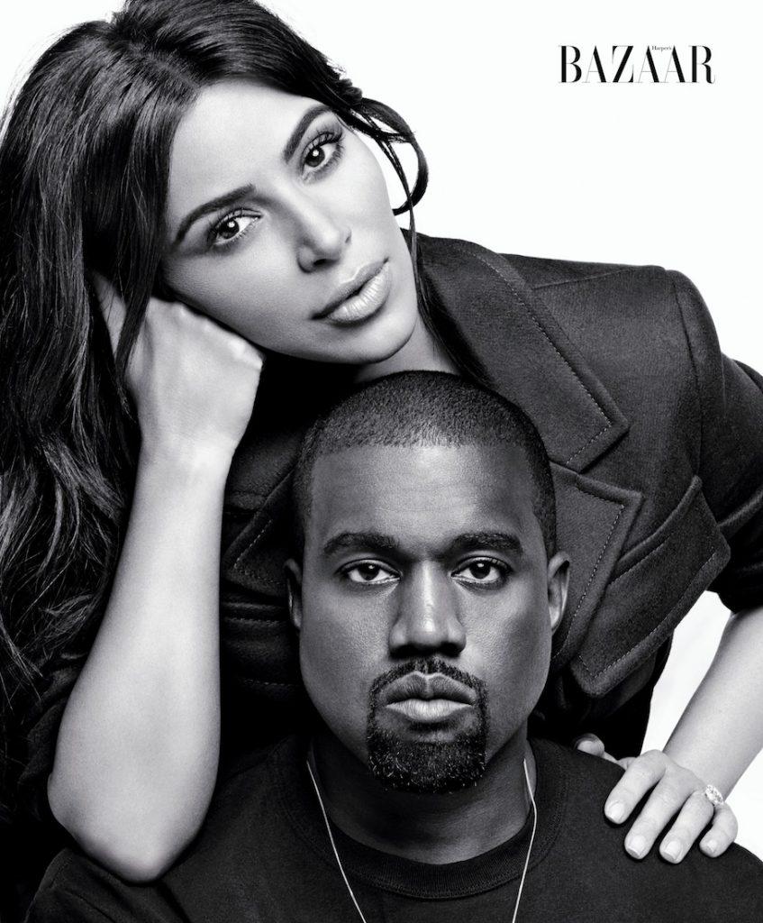 Kim mặc áo khoác của Prada