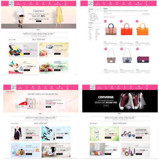 Những hình ảnh trên website