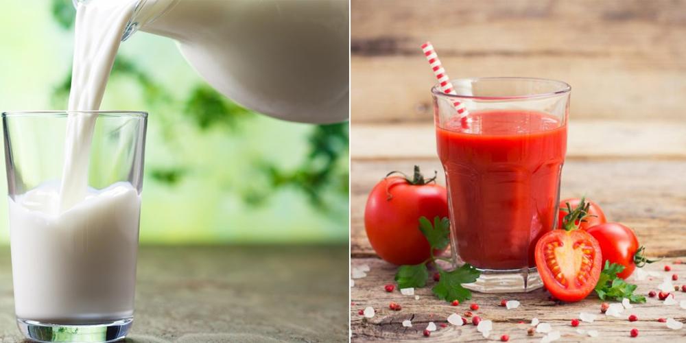 Cách trị nám với sữa tươi không đường