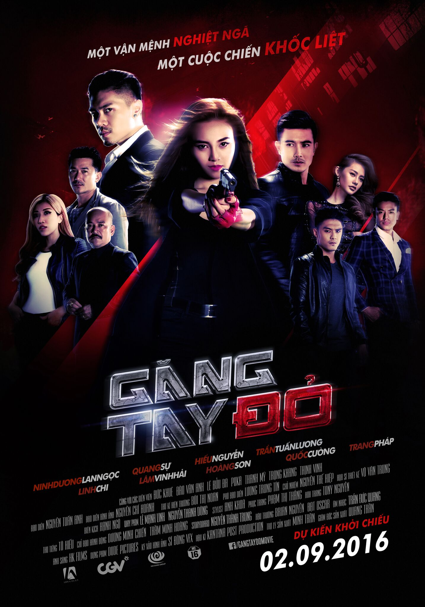 Gang tay do poster