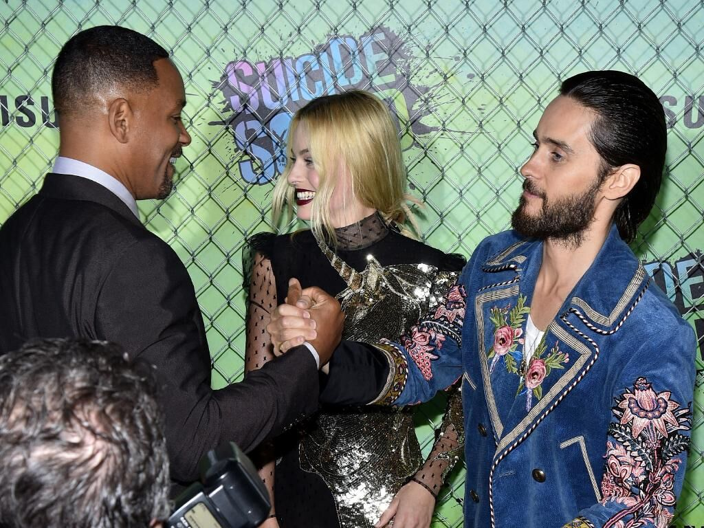 Will Smith-Margot Robbie and Jared Leto