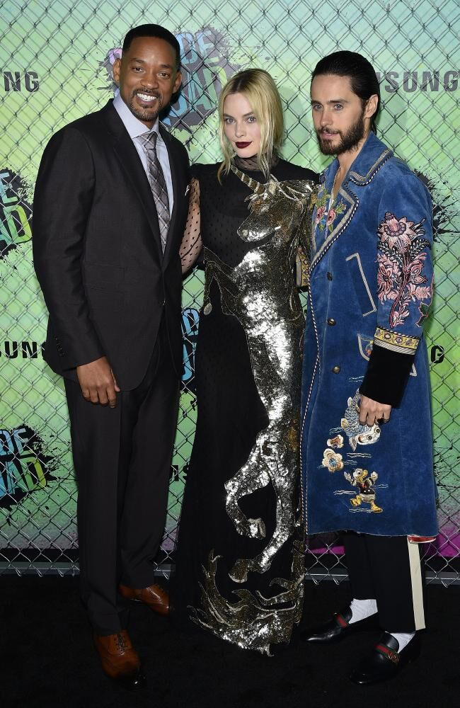 Will Smith-Margot Robbie and Jared Leto1