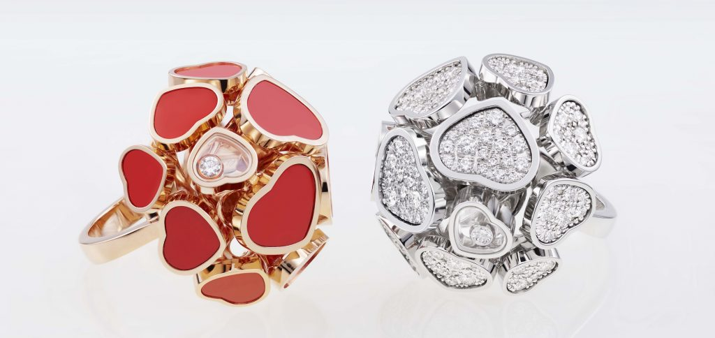 Chopard Happy Hearts rings