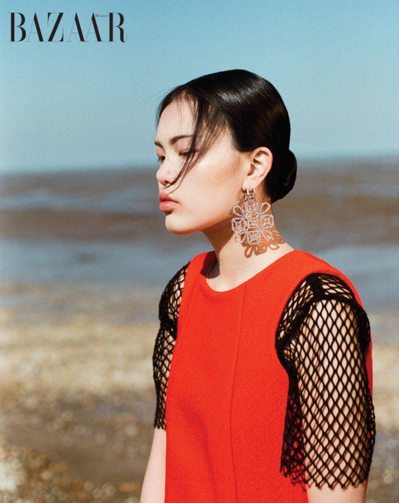 Áo lưới, Dolce & Gabbana Đầm, Bally Hoa tai, Chanel