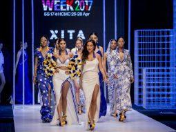 Siêu mẫu Hà Anh tái xuất cùng XITA tại Tuần lễ thời trang Quốc tế Việt Nam 2017
