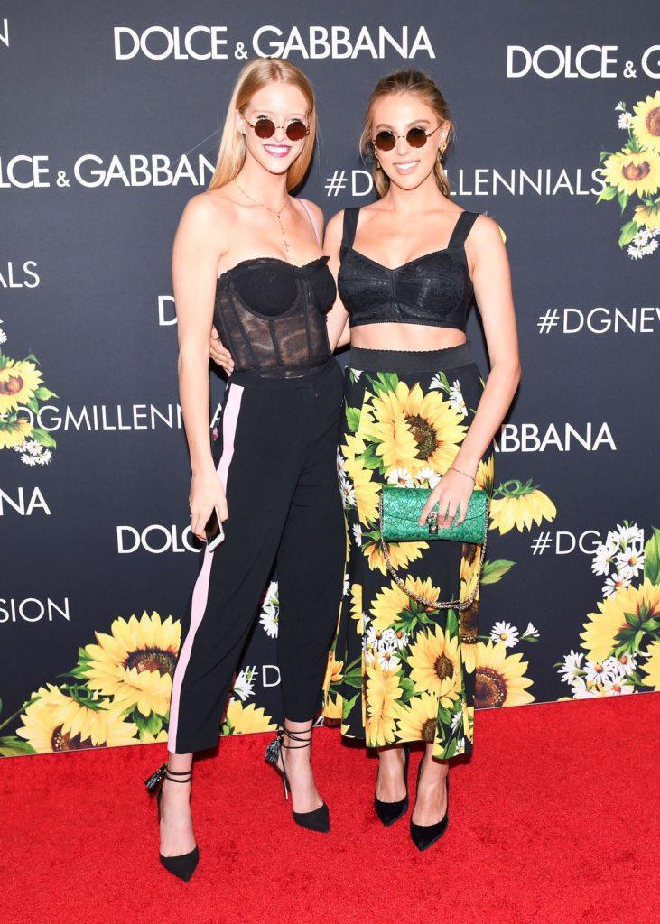 Abby Champion và Sophia Stallone