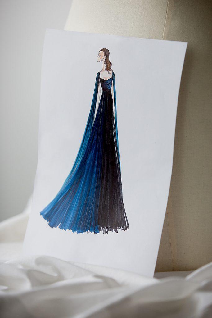 Mẫu thiết kế dành riêng cho Monica Belluci