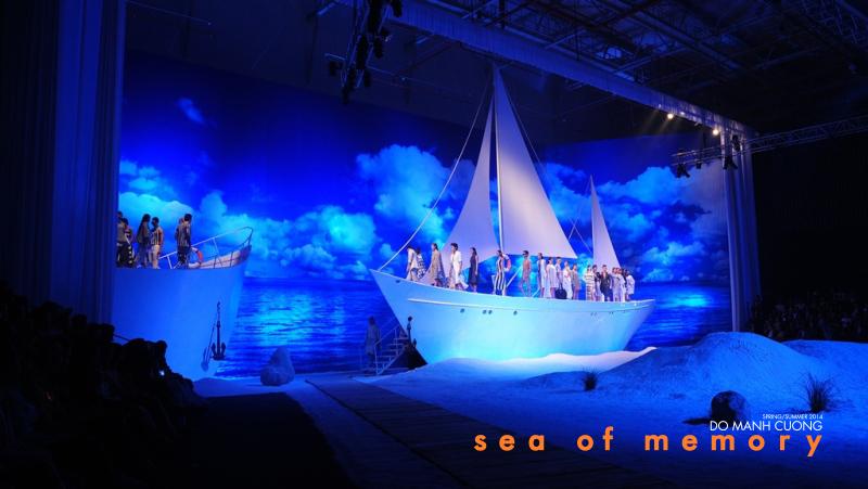 """Khung cảnh biển xanh được """"Sea of Memory"""" tái hiện thơ mộng"""