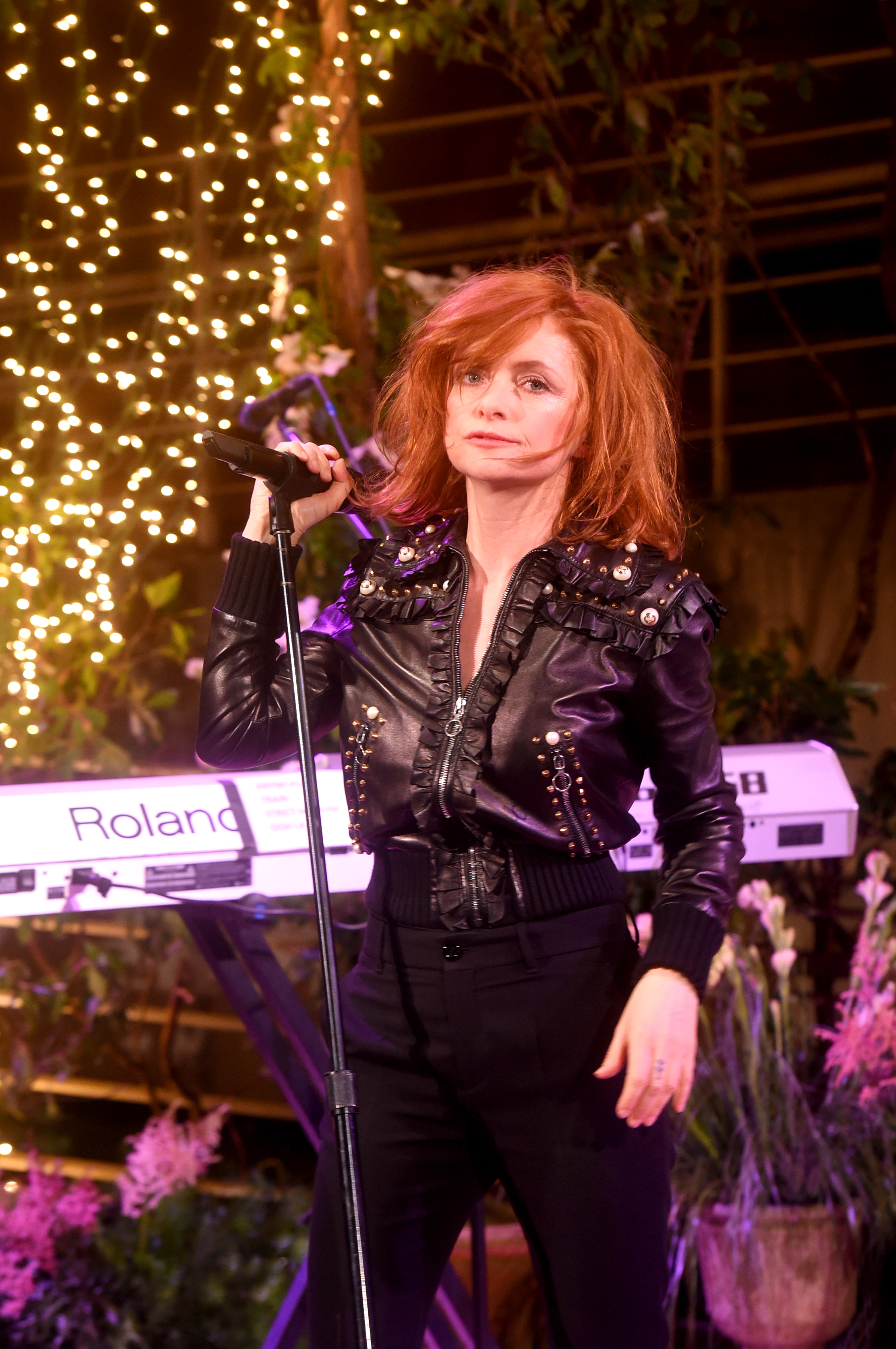 NEW YORK, NY - MAY 02: Goldfrapp performs onstage at the Gucci Bloom, Fragrance Launch at MoMA PS.1 on May 2, 2017 in New York City. (Photo by Jamie McCarthy/Getty Images for Gucci)