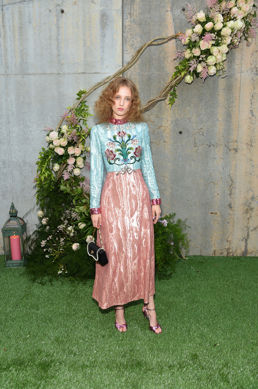 NEW YORK, NY - MAY 02: Petra Collins attends the Gucci Bloom Fragrance Launch at MoMA PS.1 on May 2, 2017 in New York City. (Photo by Jamie McCarthy/Getty Images for Gucci)