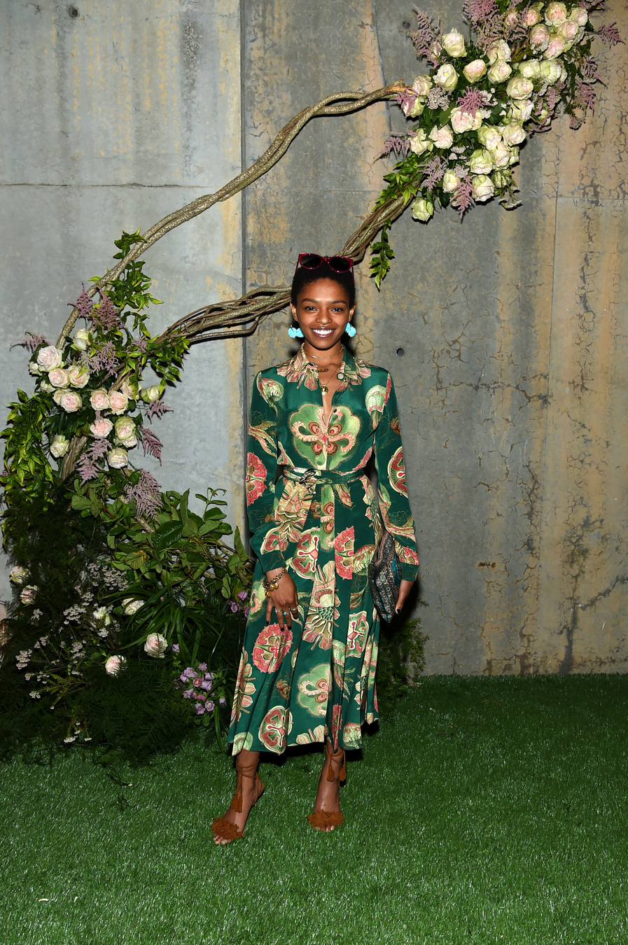 NEW YORK, NY - MAY 02: Selah Marley attends the Gucci Bloom Fragrance Launch at MoMA PS.1 on May 2, 2017 in New York City. (Photo by Jamie McCarthy/Getty Images for Gucci)