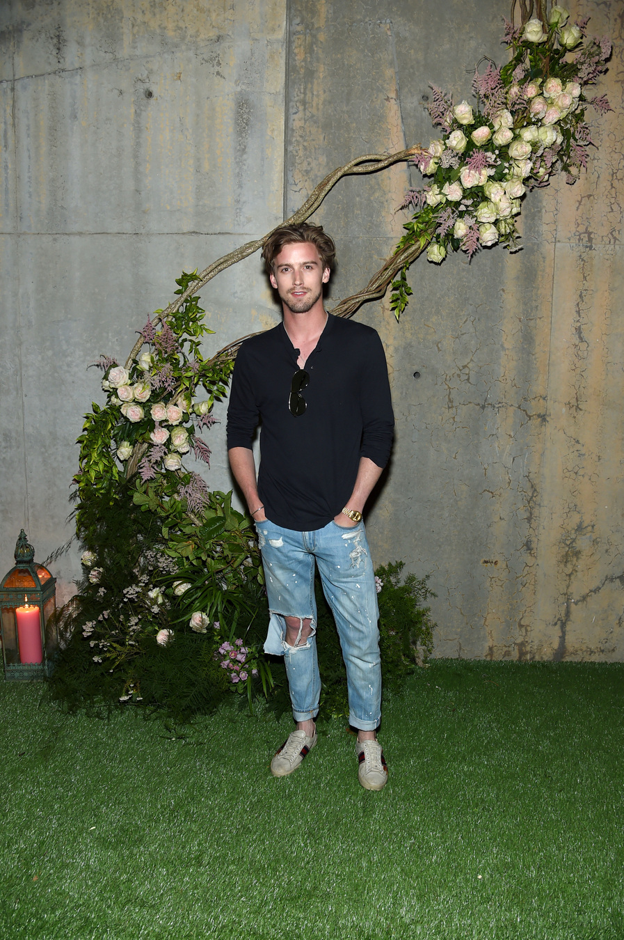 NEW YORK, NY - MAY 02: RJ King attends the Gucci Bloom Fragrance Launch at MoMA PS.1 on May 2, 2017 in New York City. (Photo by Jamie McCarthy/Getty Images for Gucci)