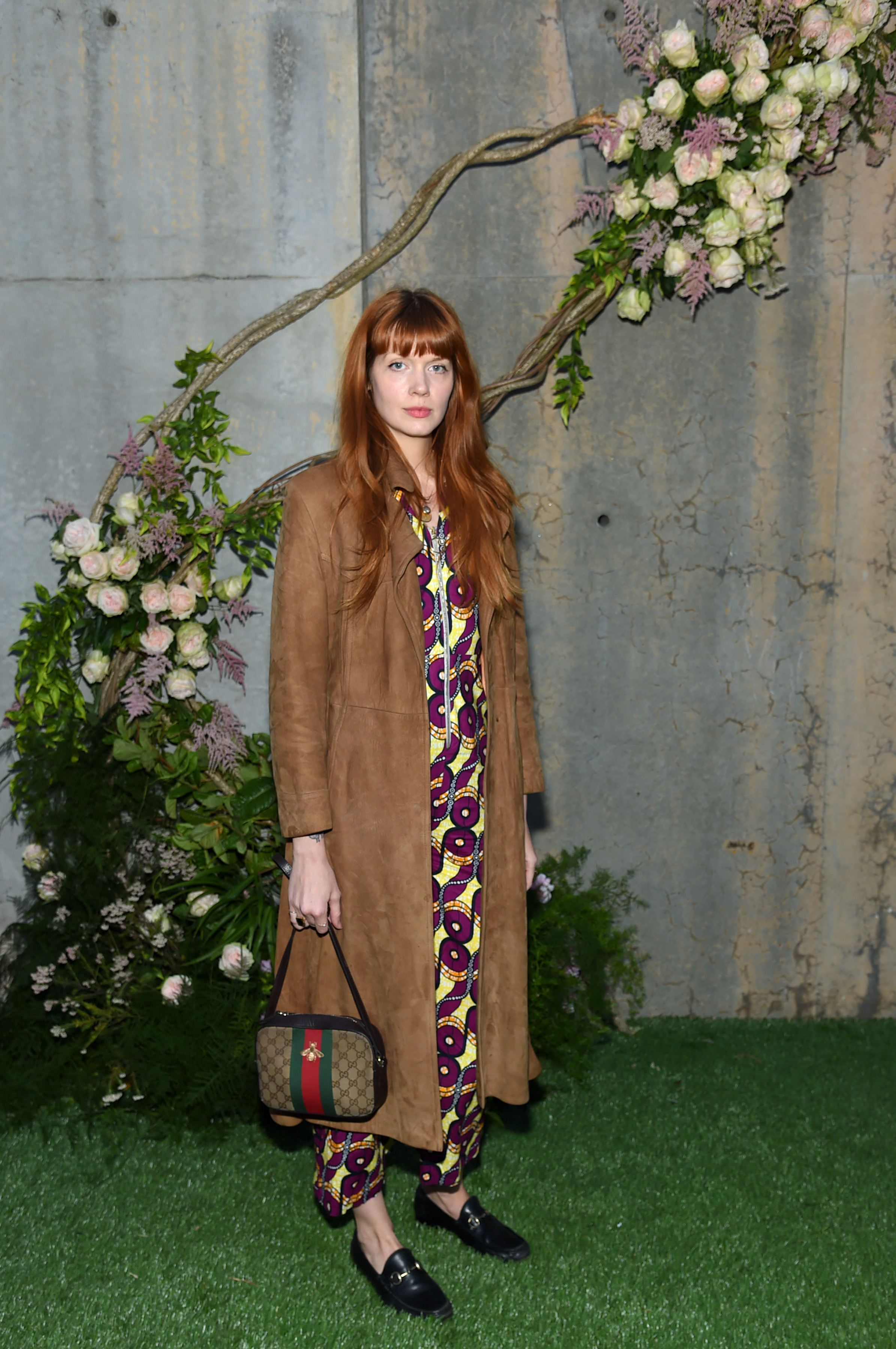 NEW YORK, NY - MAY 02: Designer Briana Lance attends the Gucci Bloom Fragrance Launch at MoMA PS.1 on May 2, 2017 in New York City. (Photo by Jamie McCarthy/Getty Images for Gucci)