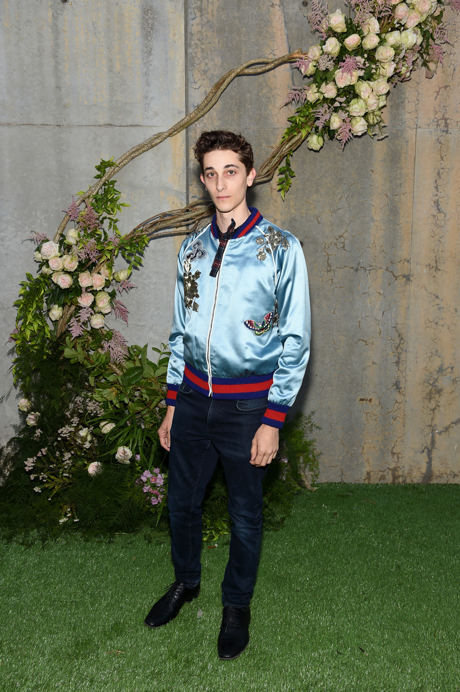 NEW YORK, NY - MAY 02: Jonah Reider attends the Gucci Bloom Fragrance Launch at MoMA PS.1 on May 2, 2017 in New York City. (Photo by Jamie McCarthy/Getty Images for Gucci)