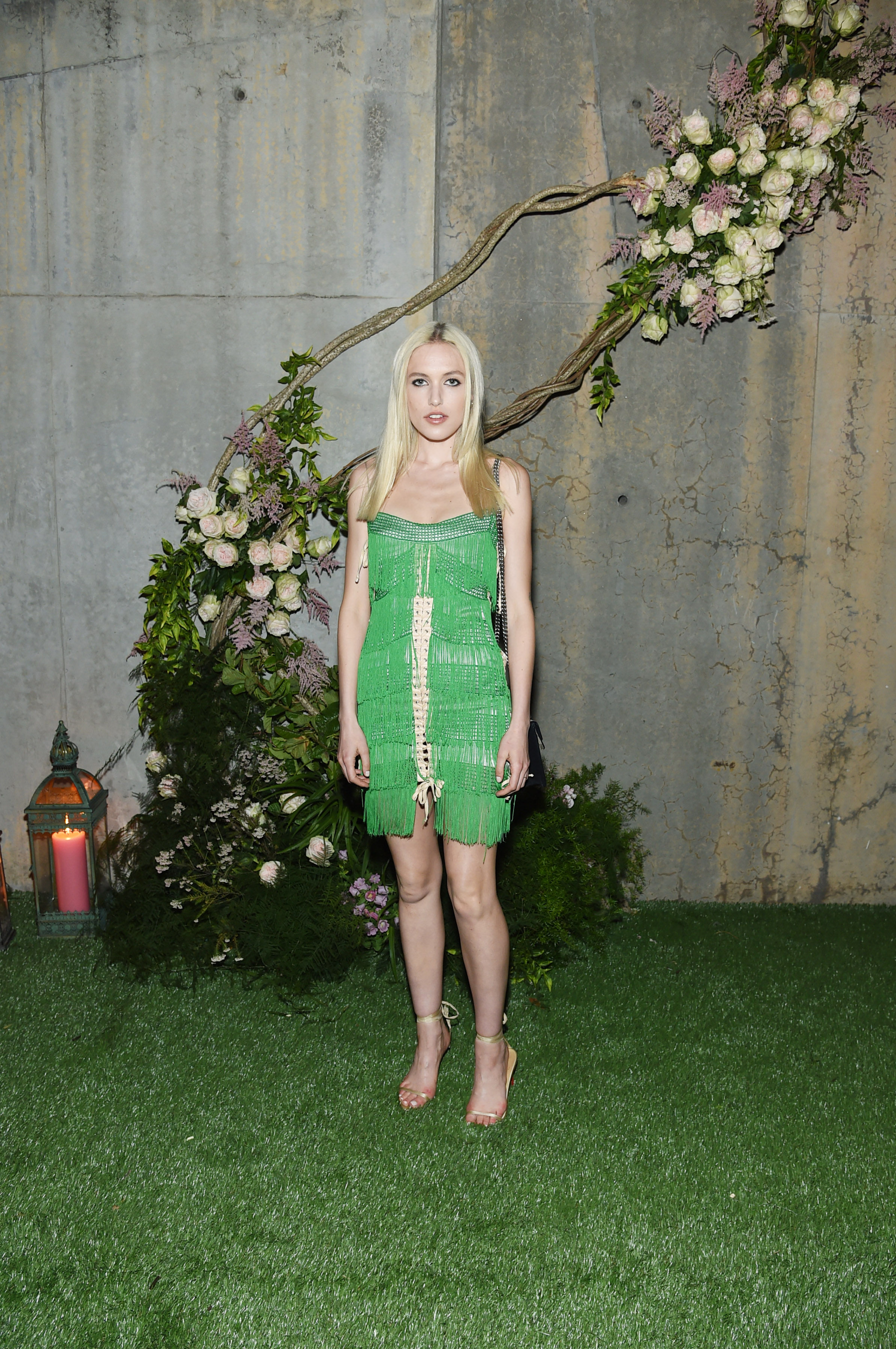 NEW YORK, NY - MAY 02: Carlotta Kohl attends the Gucci Bloom Fragrance Launch at MoMA PS.1 on May 2, 2017 in New York City. (Photo by Jamie McCarthy/Getty Images for Gucci)