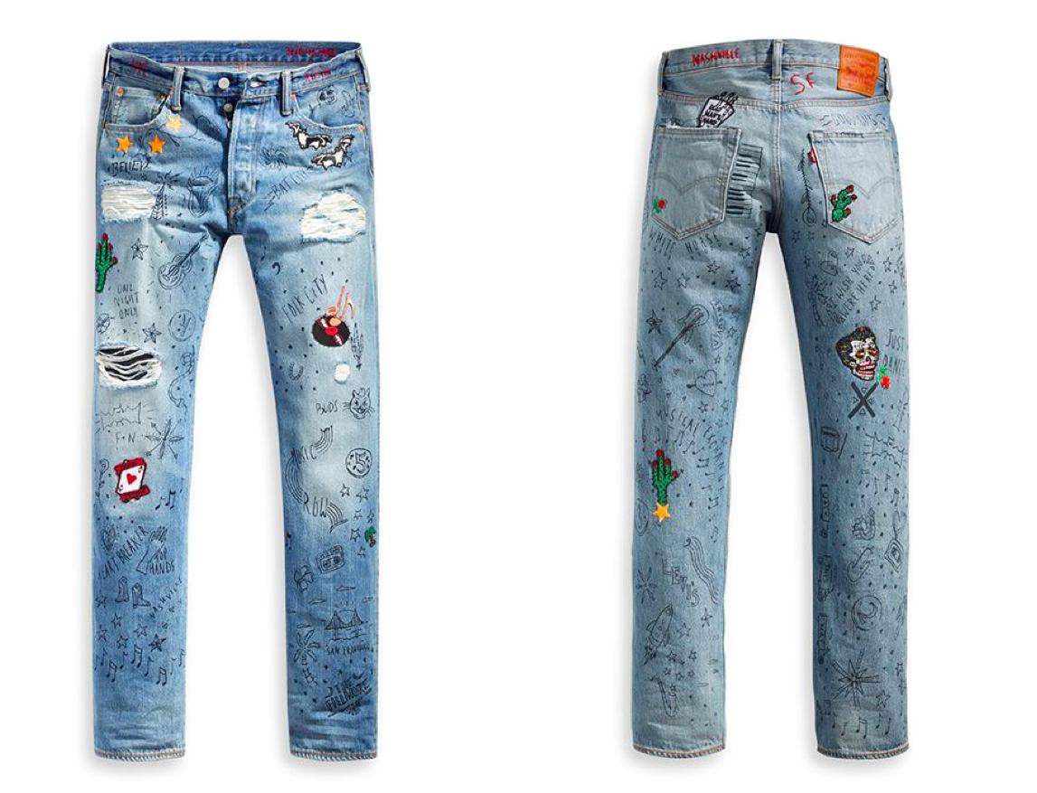 20172205 quan jeans levis 2