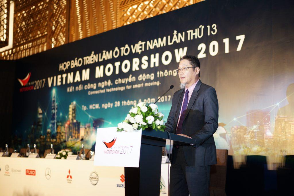 Vietnam Motor show 2017 - Trien lam o to Viet Nam 2017 hinh anh 1