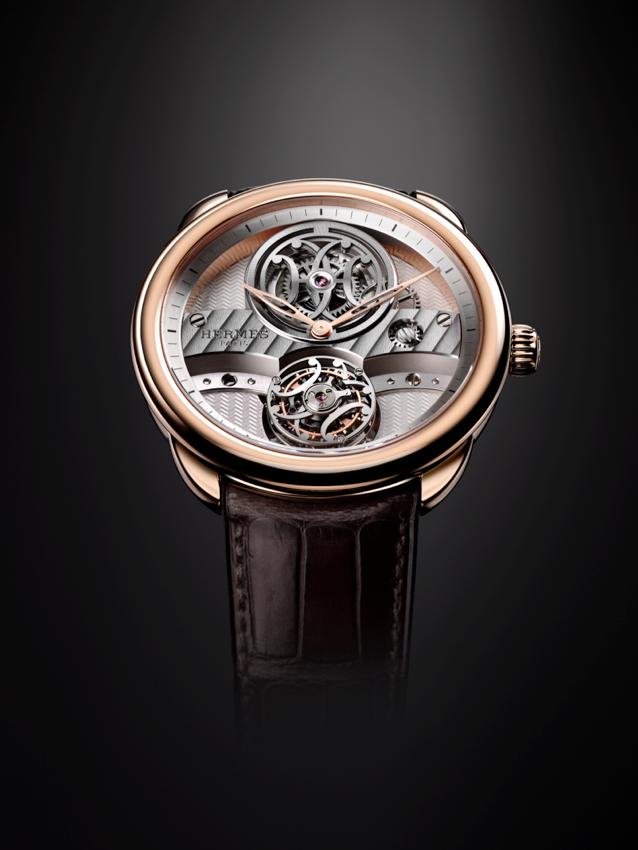 đồng hồ flyling tourbillon Hermès 01