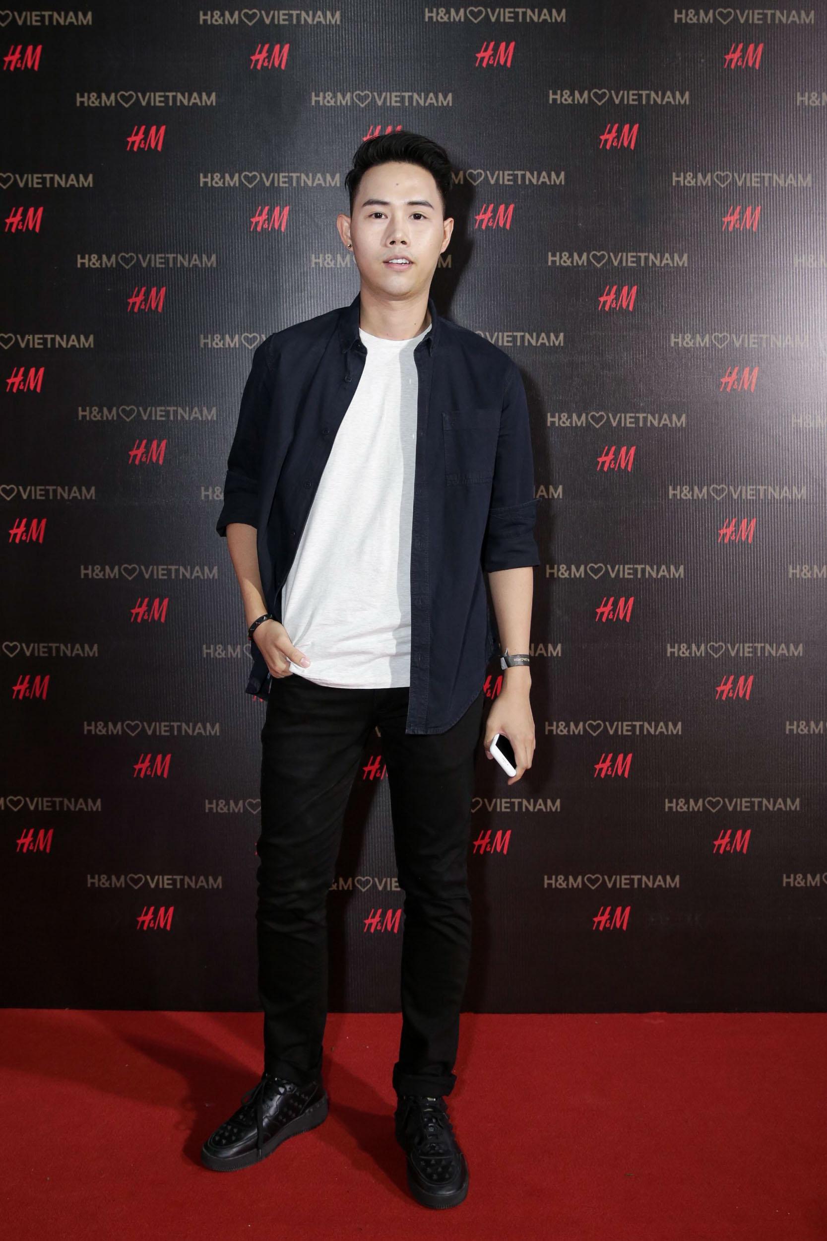 Nhà thiết kế Lâm Gia Khang.
