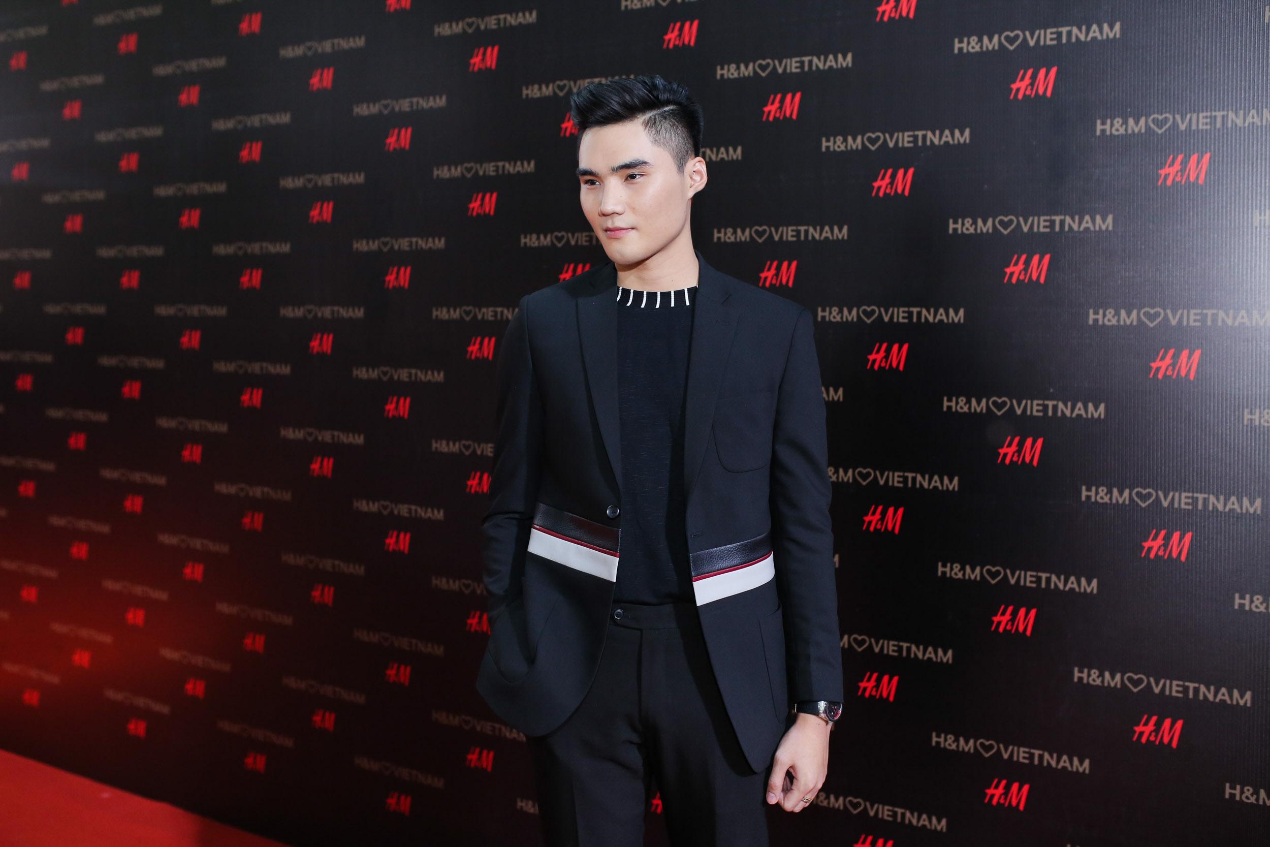 Người mẫu Quang Hùng.