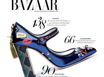Nhiều thông tin thời trang hấp dẫn đợi bạn trong Harper's Bazaar số tháng 10/2017