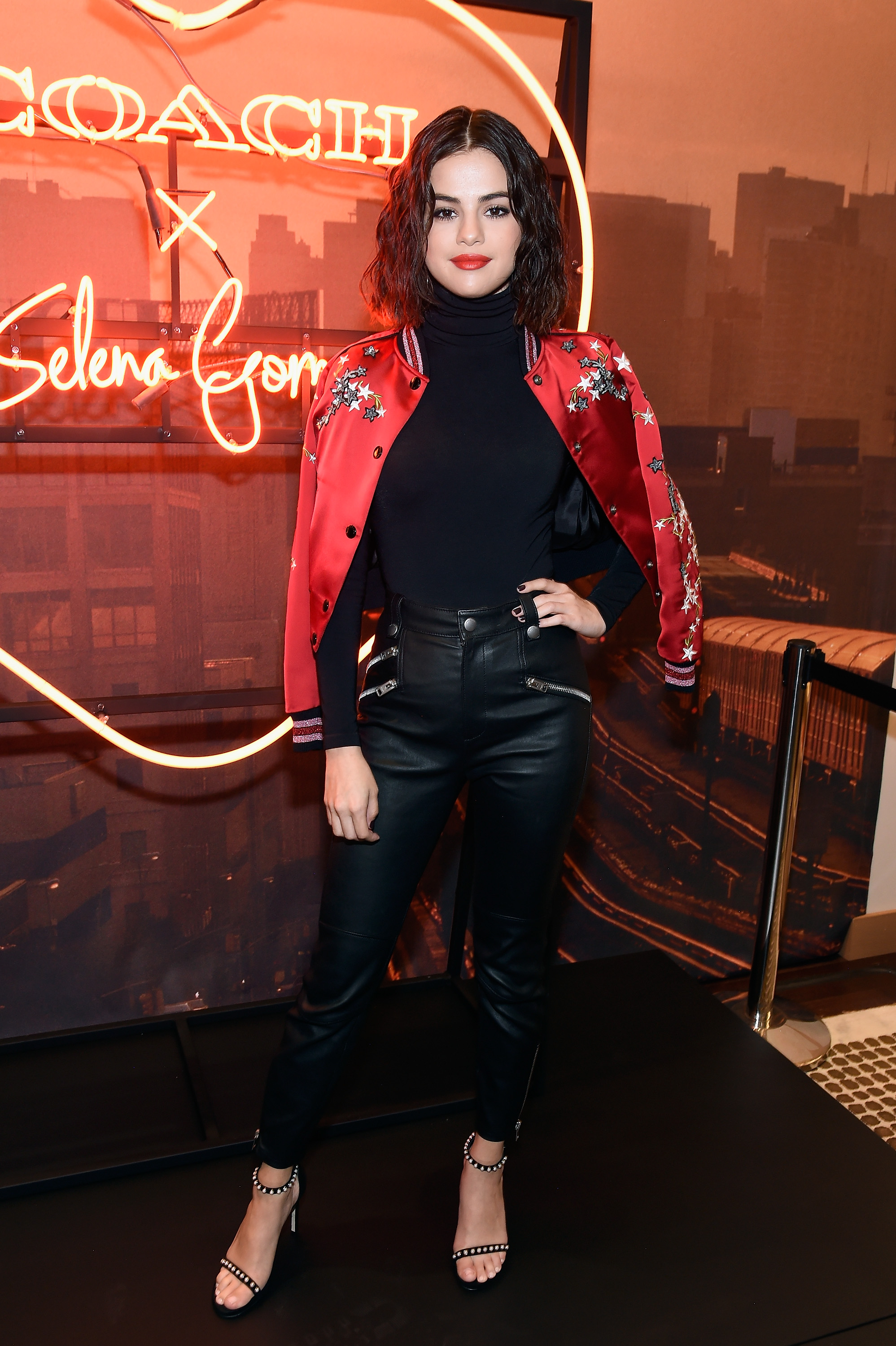 NEW YORK, NY - SEPTEMBER 13: Selena Gomez poses during the Coach In-Store Event with Selena Gomez at Coach Boutique on September 13, 2017 in New York City. (Photo by Kevin Mazur/Getty Images for Coach)