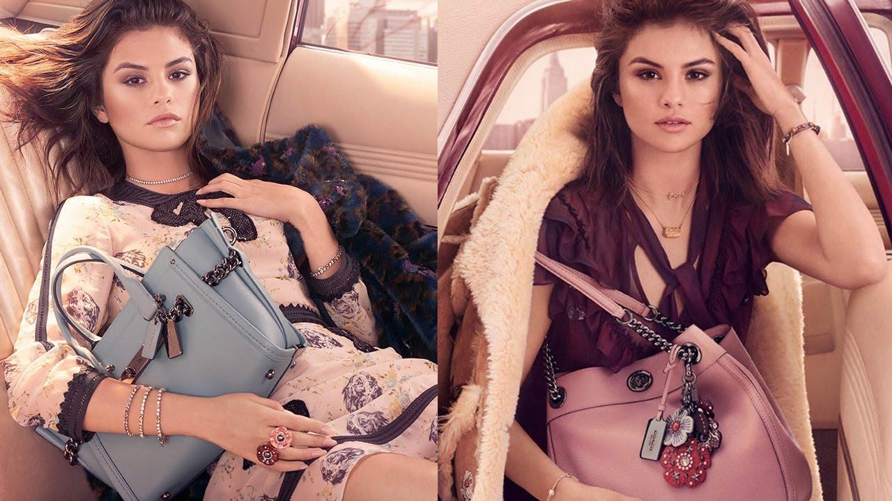 Những hình ảnh chính thức cho bộ sưu tập Coach mà Selena Gomez làm gương mặt đại diện.
