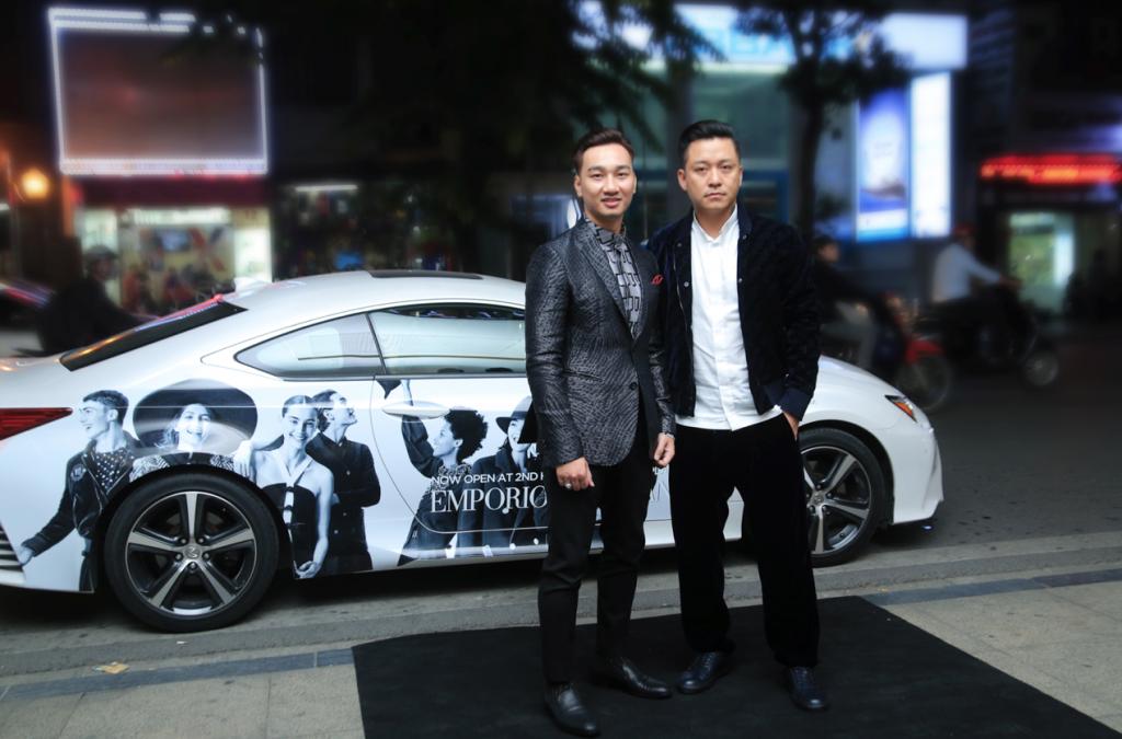 20171030 quý ông showbiz Việt chúc mừng doanh nhân Thuỷ Tiên 13