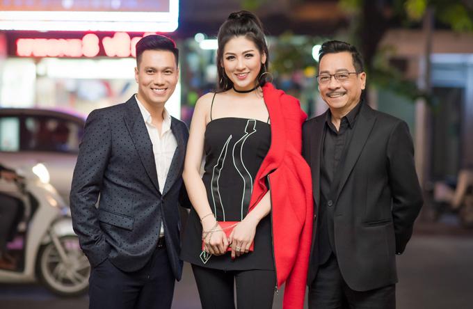 20171030 quý ông showbiz Việt chúc mừng doanh nhân Thuỷ Tiên 12