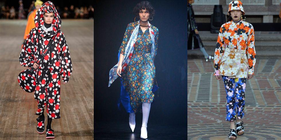 Từ trái qua: Marc Jacobs; Balenciaga; Kenzo.