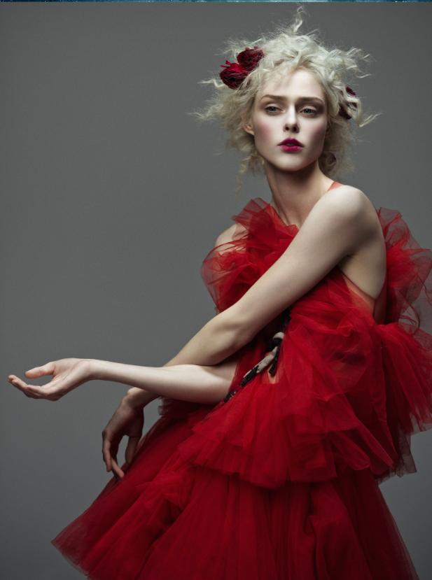 Người mẫu Coco Rocha trên trang bìa tạp chí Harper's Bazaar Việt Nam