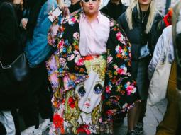 Gặp gỡ Katie Monster – fashionista đặc biệt vụt sáng tại Tuần lễ Thời trang