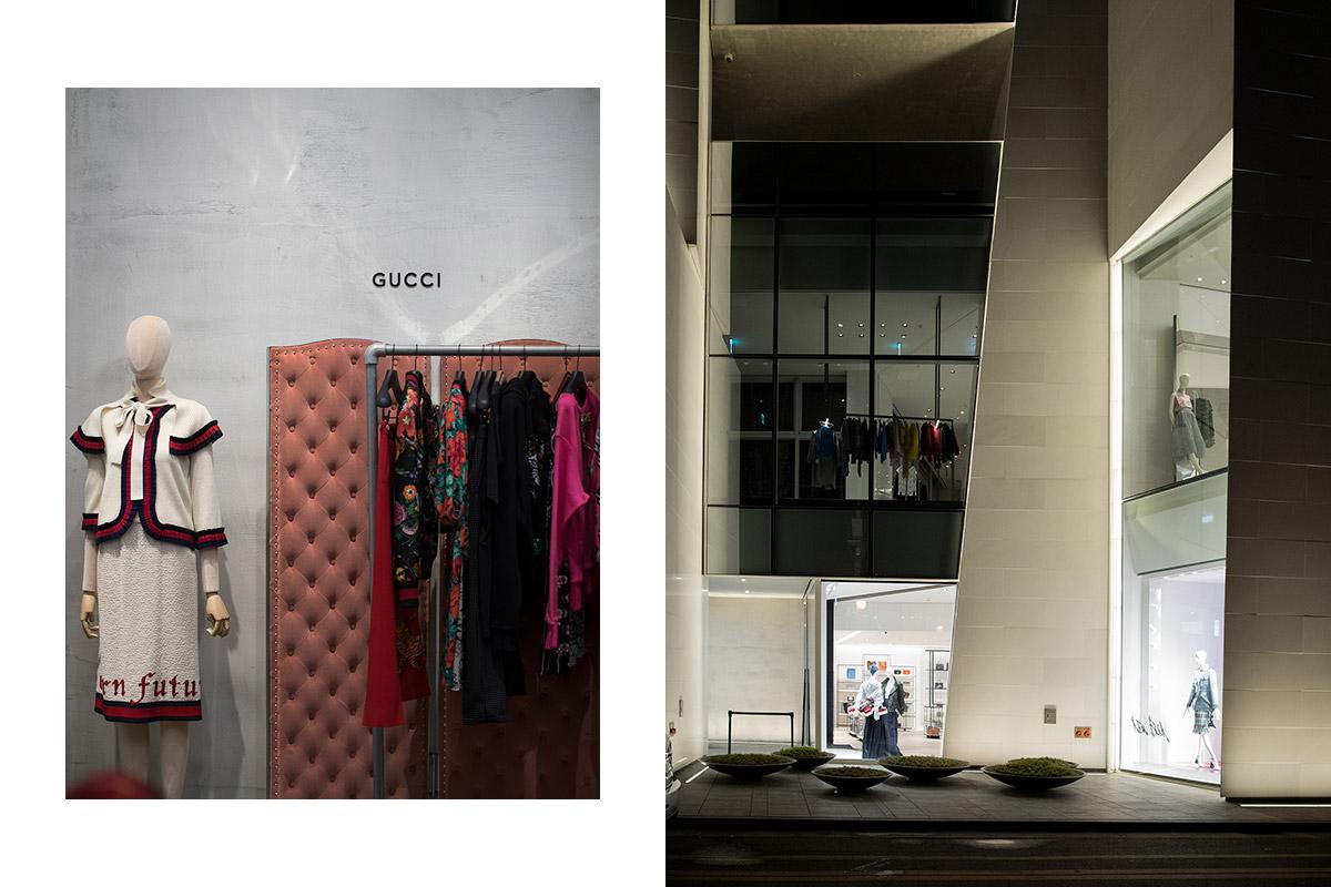 Các món đồ thời trang cao cấp được tập hợp nơi đây, trong không gian xa hoa và lộng lẫy.