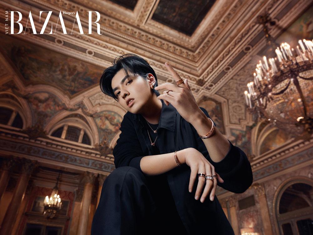 Nam ca sỹ, rapper Ngô Diệc Phàm trong chiến dịch quảng cáo trang sức BVLGARI B.Zero