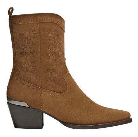 Angkle boot, Massimo Dutti