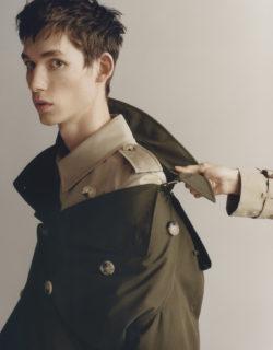 Burberry trench-coat