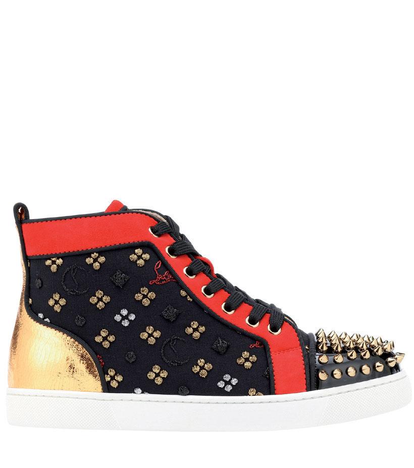 phụ kiện thời trang đính đinh-sneaker-christian-louboutin