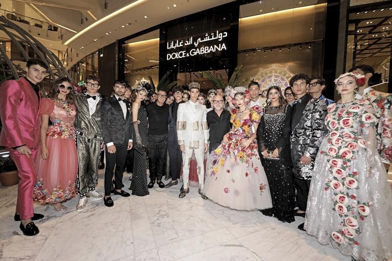 Dolce & Gabbana Dubai Mall Fashion Show-18